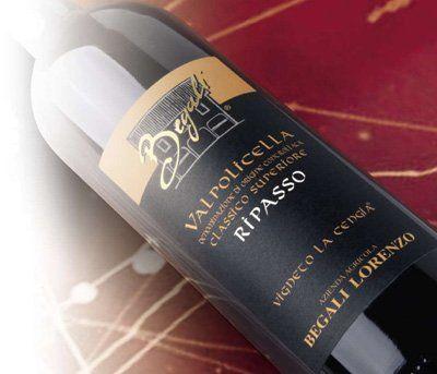 bottiglia di vino Valpolicella Ripasso