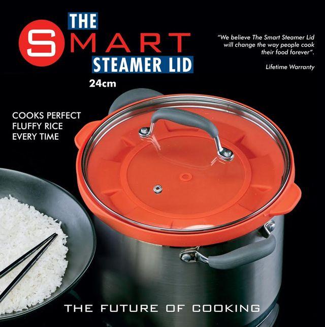 The Smart Steamer Lid 24cm