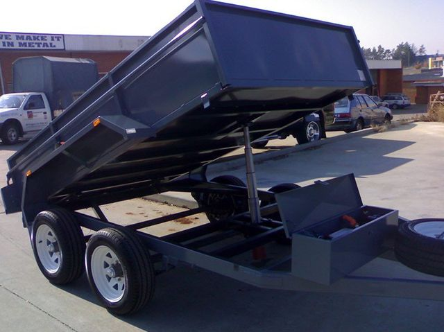better trailers grey trailer with lifting