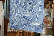 esposizione quadri a Muravera