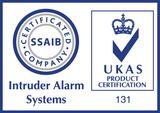 UKAS SSAIB certified logos
