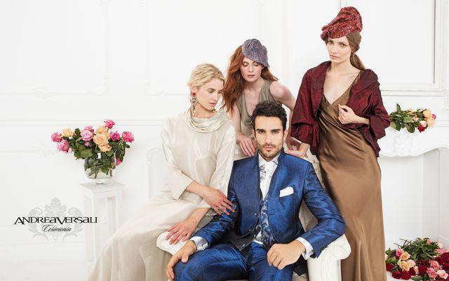 Uomo con abiti eleganti a Taranto