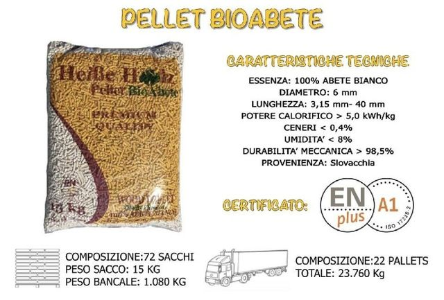 Pellet BioAbete Abete