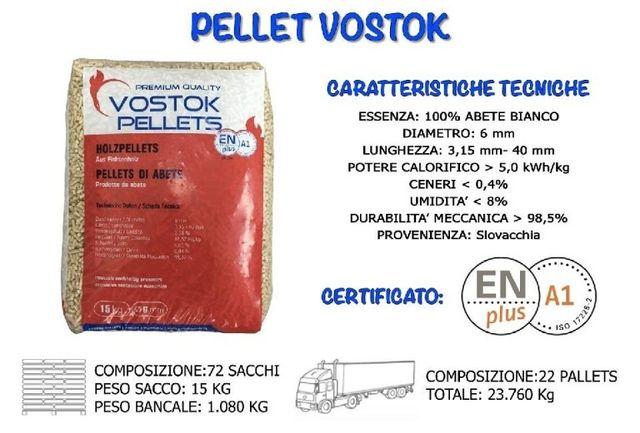 Pellet Vostock Abete