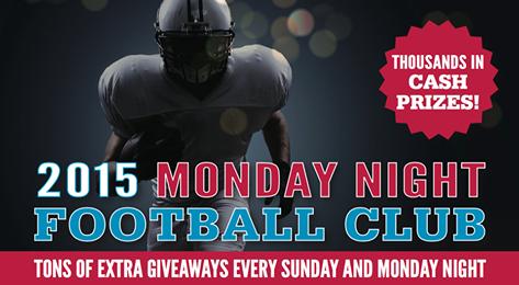 Monday night Football Club night promo