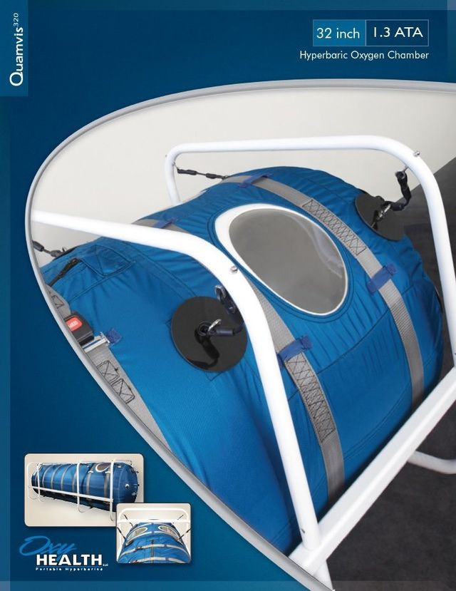 a hyperbaric chamber