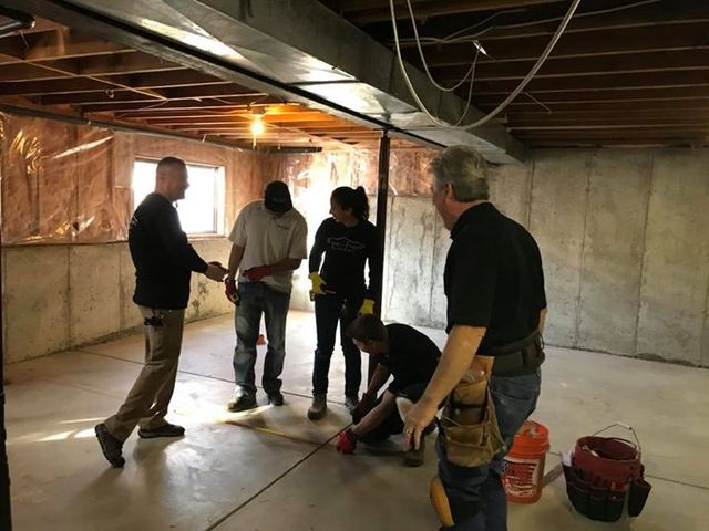 Basement Finishing Colorado completing room construction