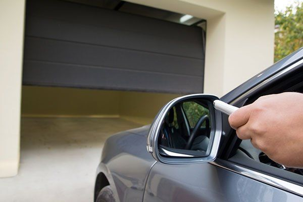 Aprendo un garage con telecomando
