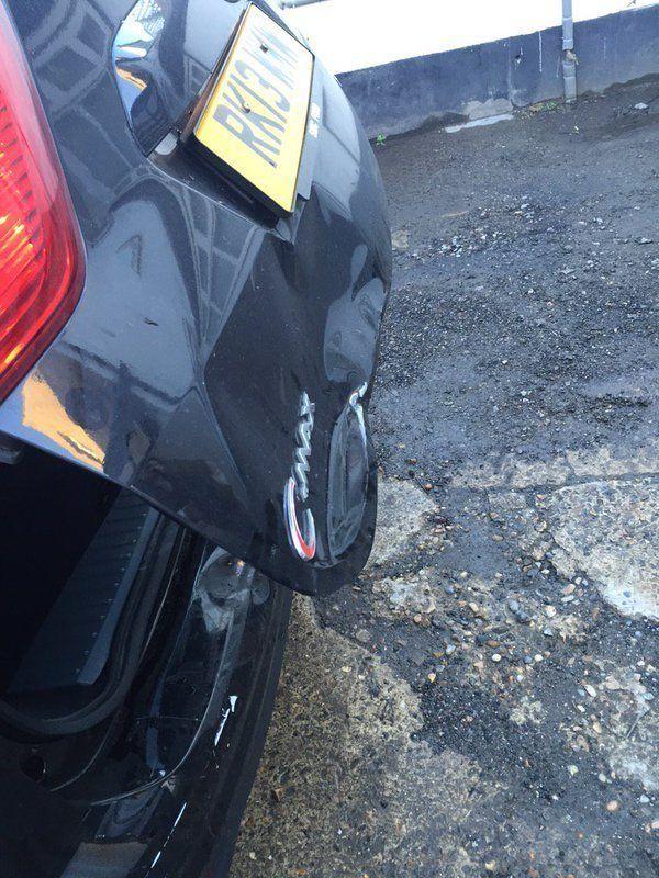 damaged car repairs