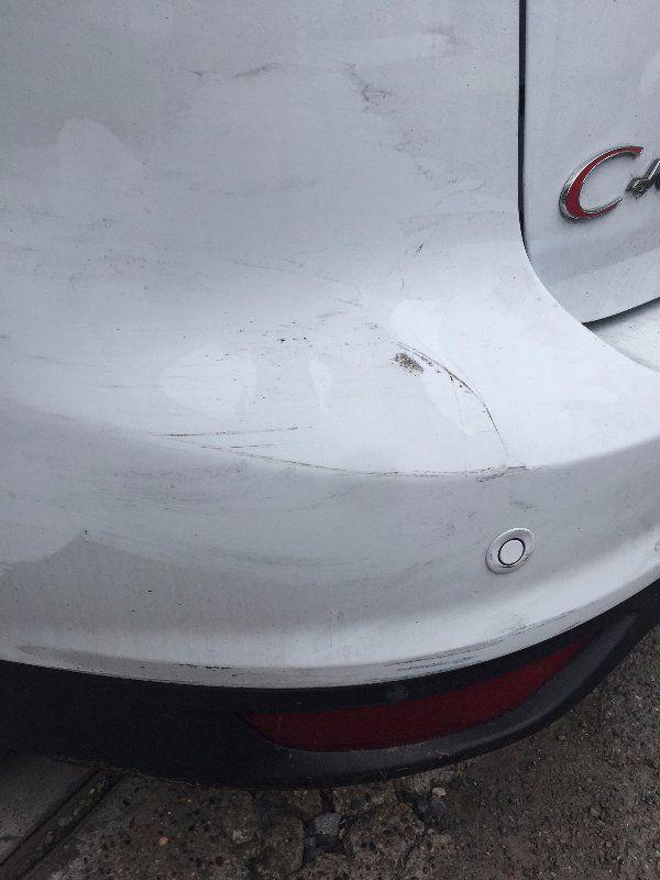 Plastic bumper repair - welding