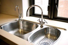 Kitchen installation - Clerkenwell, London - Angel Plumbing Services - Sink