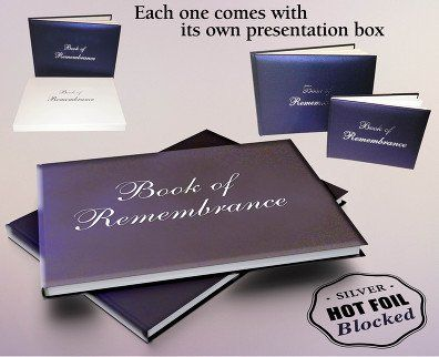 Funeral Book of Remembrance
