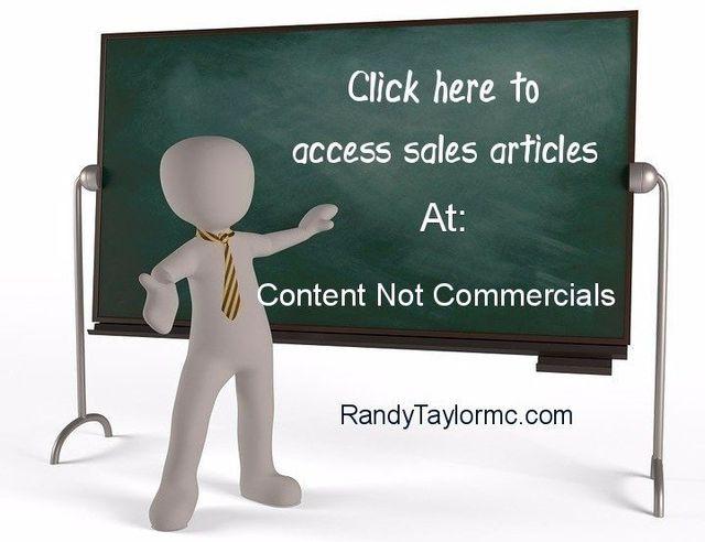 Randy Tayler Content not Commercials