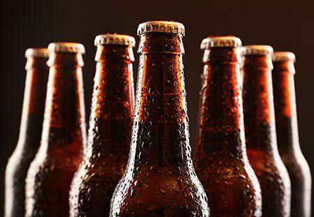 delle bottiglie