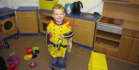 boy in a costume