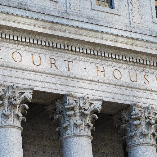 Court house where our attorneys provide legal support and defense