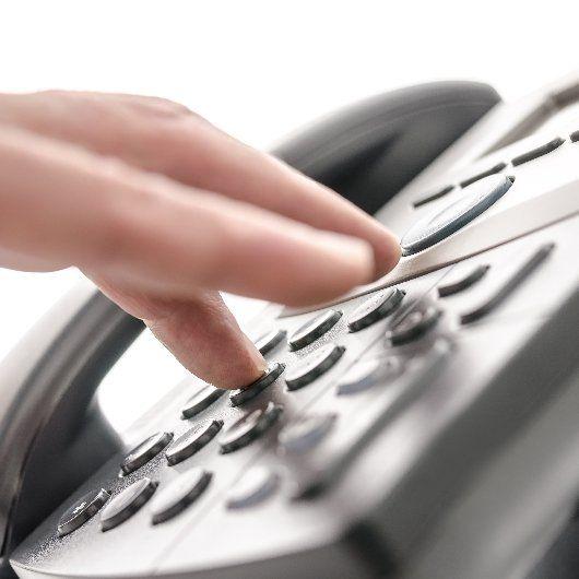 Person calls for attorney services