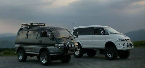 Serviced Mitsubishi Delica campervans running in North Shore