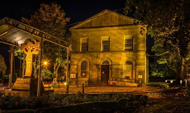 VisitingKells.ie - The Old Courthouse by Night