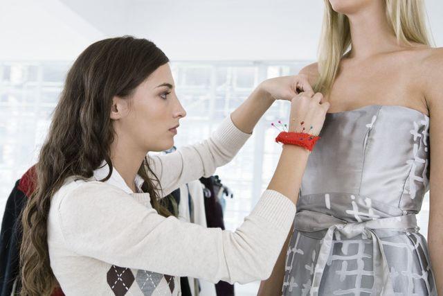 A dress maker