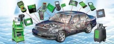 un'immagine di una macchina e degli accessori di diagnostica