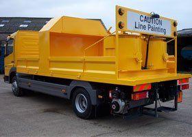 Road marking equipment - Hemel Hempstead, UK - Tayart Road Marking Equipment - Lining vehicle