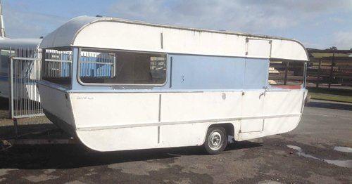 Lightweight caravan