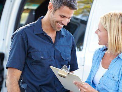 Sacramento — Man and Woman with Checklist in Rancho Cordova, CA