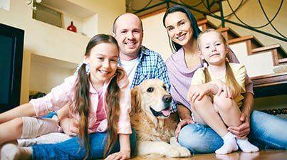 Pest Control Sacramento, CA — Family at Home in Rancho Cordova, CA