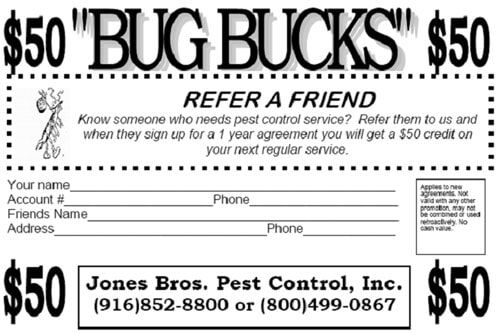 Referral — Exterminator in Rancho Cordova, CA