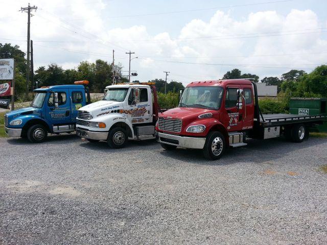 Roadside assistance vehicles in Dalton, GA