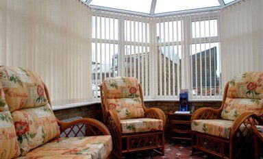 Automatic conservatory blinds