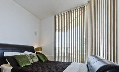 Blinds for shade, privacy and temperature control