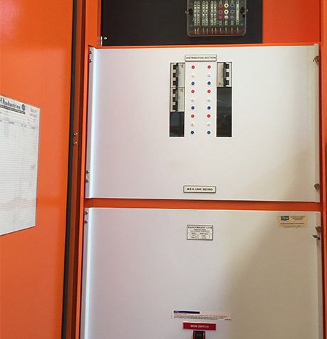 Electrical equipment provided by HARP