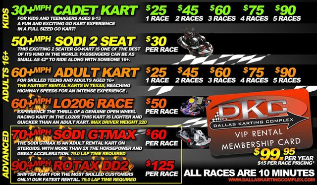 Go Kart Dallas >> Rental Racing Go Karts League Racing Private Events And Parties