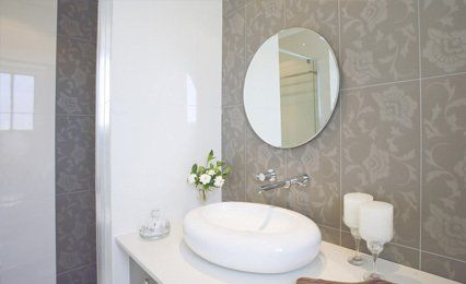 circular vanity mirror