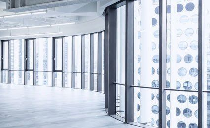 fire resistant corridor glazing