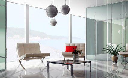 open glazed sitting room