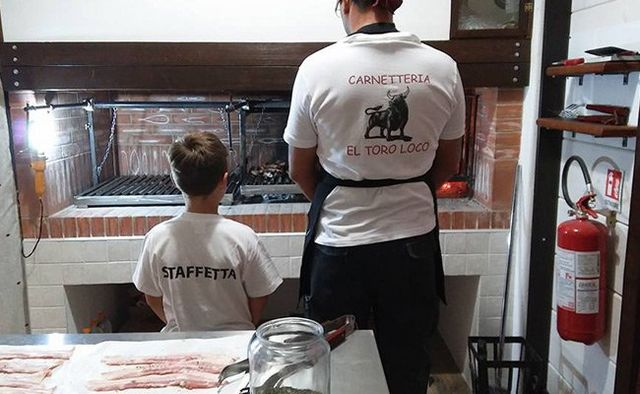 Carne in preparazione in Provincia di Matera