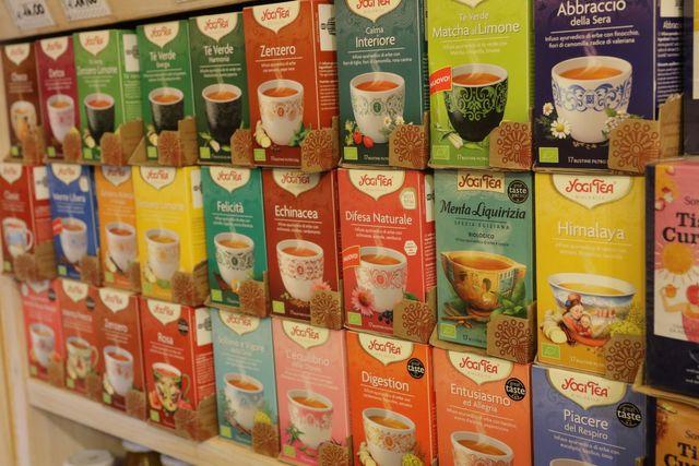 confezioni di English Tea Shop
