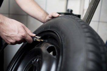 montaggio pneumatici