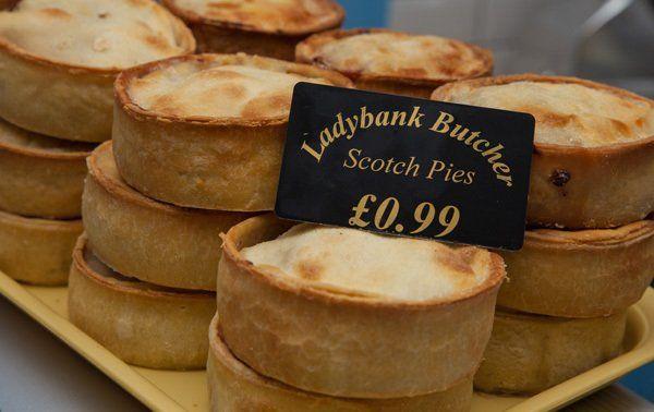 Scotch pies by Ladybank butcher