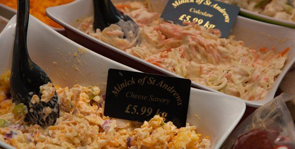 Cheese savory at Minick of ST. Andrews