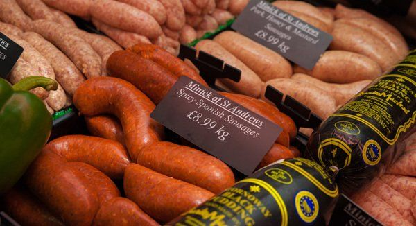 Spicy spanish sausages at Minick of ST. Andrews