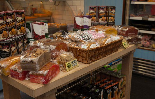 Variety of bread at Minick of ST. Andrews
