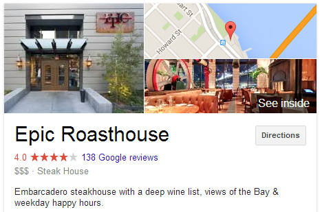 Epic Roasthouse Knowledge Page