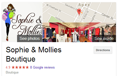 Sophie & Mollies Apex NC Knowledge Page