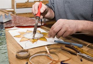 Creando vetri di colori