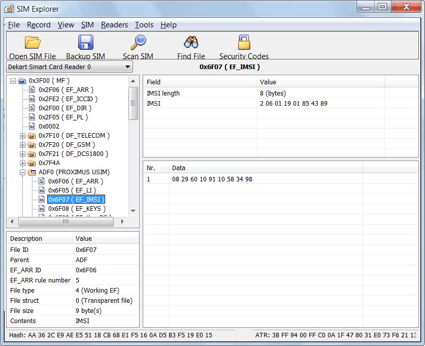 Dekart Sim Explorer