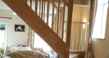 stairs for domestic use